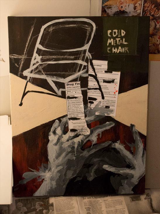 Cold Metal Chair Visuaized © 2012 OJ Mooney